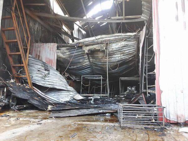 Cháy kinh hoàng, 8 người tử vong ở xưởng sản xuất bánh kẹo